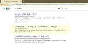 Website FPTThaiBinh.vn